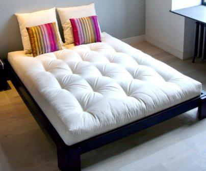The Teko Comfort Futon Mattress Provides Superior And Is Filled With Layers Of 100 Cotton Fibres That S Keep Proper Temperature Body