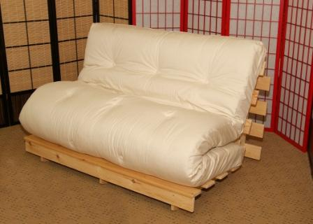 Bi Fold Futon Mattress Is Suitable For The 3 Seater Clarin
